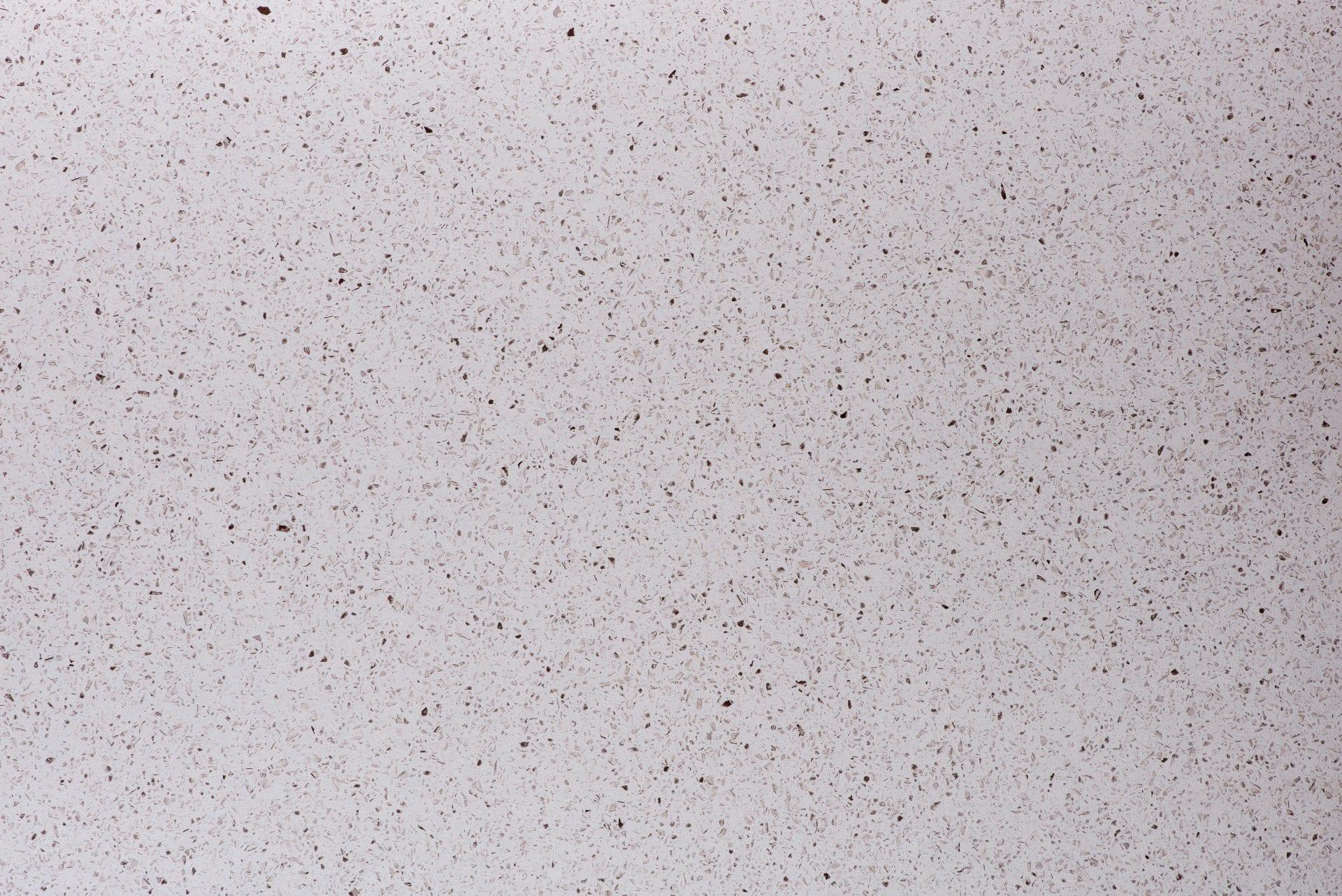 White Quartz Full Length Square Edge Kitchen Worktop