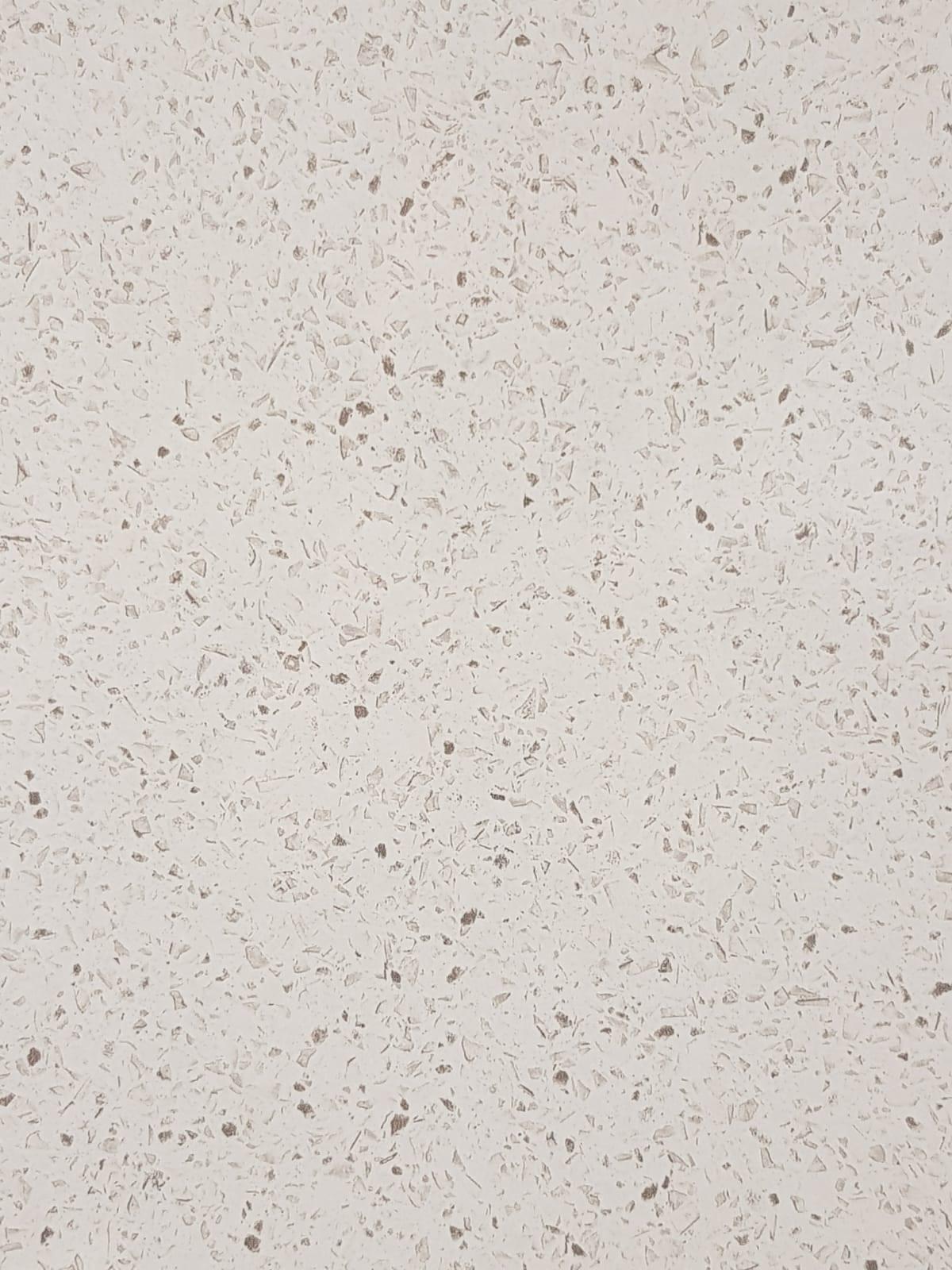 White Quartz Close Square Edge Kitchen Worktop