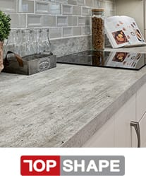 TopShape is the ultimate square edge kitchen worktop
